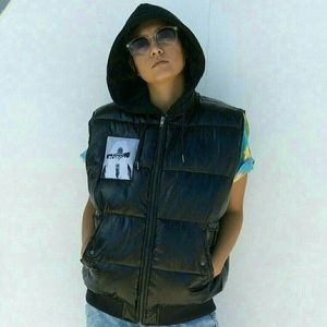 H&M Padded Puffer Vest Jacket xs